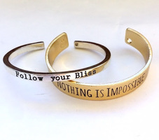 Nothing is Impossible Cuff