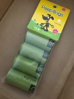 Champion Life cherry blossom dog poop bags