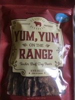 Dog Treats- Yum Yum on the Range - Tender Beef