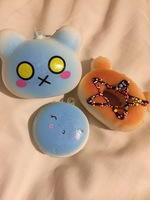Keychain Squishes 3 count
