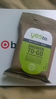 Yes To Natural Man Shower To-Go Cleansing Clothes