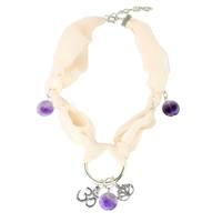 Summer Lotus/OM Necklace