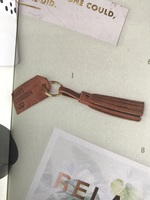 Haiti Design Co Tassle Keychain