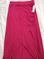 Loveappella Raspberry Maxi Skirt ~ Size small
