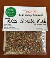 Sugar free Texas steak rub