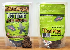 Beef, Oatmeal & Spinach Dog Treats