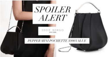 Eddie Borgo Pepper Mini Pochette Bag