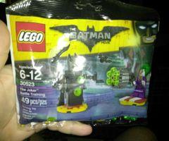 LEGO Batman Movie The Joker Battle Training (30523), New Sealed 49 pcs