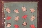 Vintage Symbols Drawstring Bag