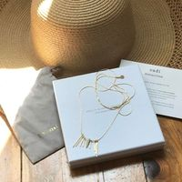 Vadi Sunhorn Necklace - Gold