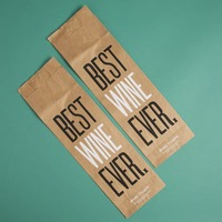 "Two ""Best Wine Ever"" Bags by Easy Tiger"