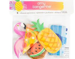 Amy Tangerine Ephemera - Inflatible