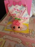 Hoppe Chan cherry keychain