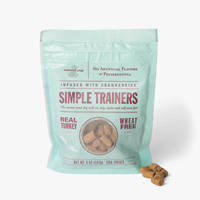Natural Pup Simple Trainers (Real Turkey infused with Cranberries)