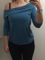 Margerie one shoulder strap top