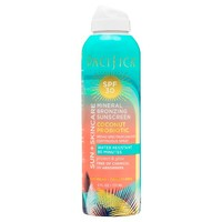 Pacifica Coconut Probiotic SPF 30 Bronzing Spray Mineral Sunscreen 6oz