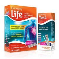 Berkeley Life Heart Health Nitric Oxide Supplement + Test
