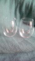 Pair Of 9 oz Stemless Glasses