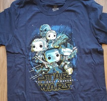 Resistance Force Awakens Rebels - Dark Blue - Size Large