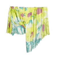 Tilo Mid Summer Floral Scarf in Yellow