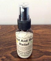 Sarah's Sweet Scrubs - First Aid/Bug Relief Spray, Organic