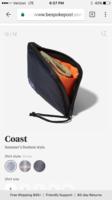 Bespoke post surf wallet