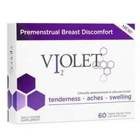 Violet Premenstrual breast discomfort daily iodine supplement
