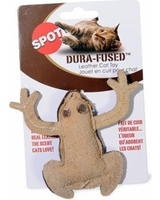 Spot Dura-Fused Leather Cat Toy (Frog)
