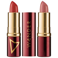 Wander dual end lipstick barely there nude mauve