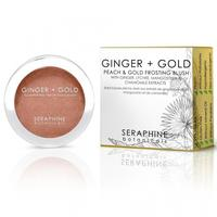 Seraphine botanicals Ginger + Gold blush