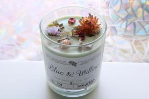Lilac & willow - mosquito no soy candle