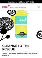 HUM CLEANSE TO THE RESCUE
