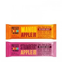Pressed by Kind Fruit Bars in Strawberry Apple Chia & Mango Apple Chia