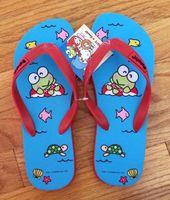 Keroppi Flip Flops-LARGE