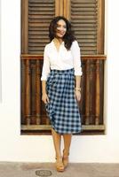 Shabby Apple Eleanor Skirt midi teal