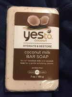 Yes to coconut soap