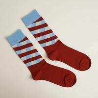 Keep It Simple Socks - Red Stripes