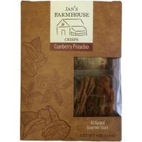 Jan's Farmhouse Crisps Cranberry Pistachio