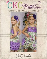Ruffle Butt Romper pattern from Create Kids Couture