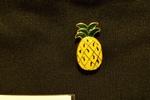 Penny + Grace Enamel Pineapple Pin