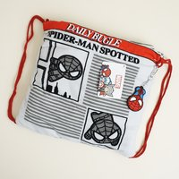 Spider-Man Beach Towel Cinch Bag