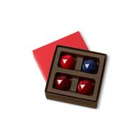 Kohler Chocolates gift box with four candies