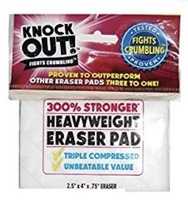 Knock Out Heavyweight Eraser Pad