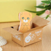 Orange Cat In A Box Sticky Notes