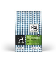 """""""I And Love And You"""" Naked Essentials Lamb & Bison Grain Free Dog Food"""