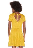 Lace Skater Dress - Medium