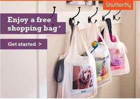 Shutterfly Free Reusable Shopping Bag or Magnet