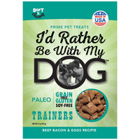I'd Rather Be With My Dog Paleo, Grain/Gluten/Soy-Free Turkey & Pumpkin Trainer Treats
