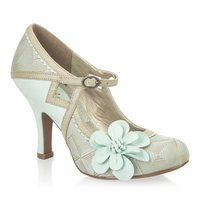Ruby Shoo (cindy mint/gold)