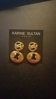 Karine Sultan Gold Drop Earrings